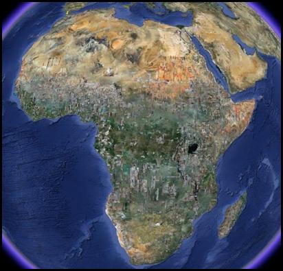 África: Imagem de Satélite